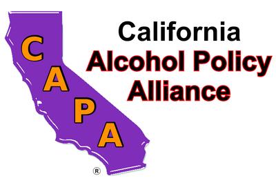 California Alcohol Policy Alliance (CAPA) AlcoholPolicyAlliance.org (PRNewsfoto/Alcohol Justice)
